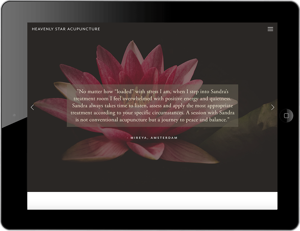 health and wellness website squarespace