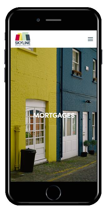 Squarespace finance website