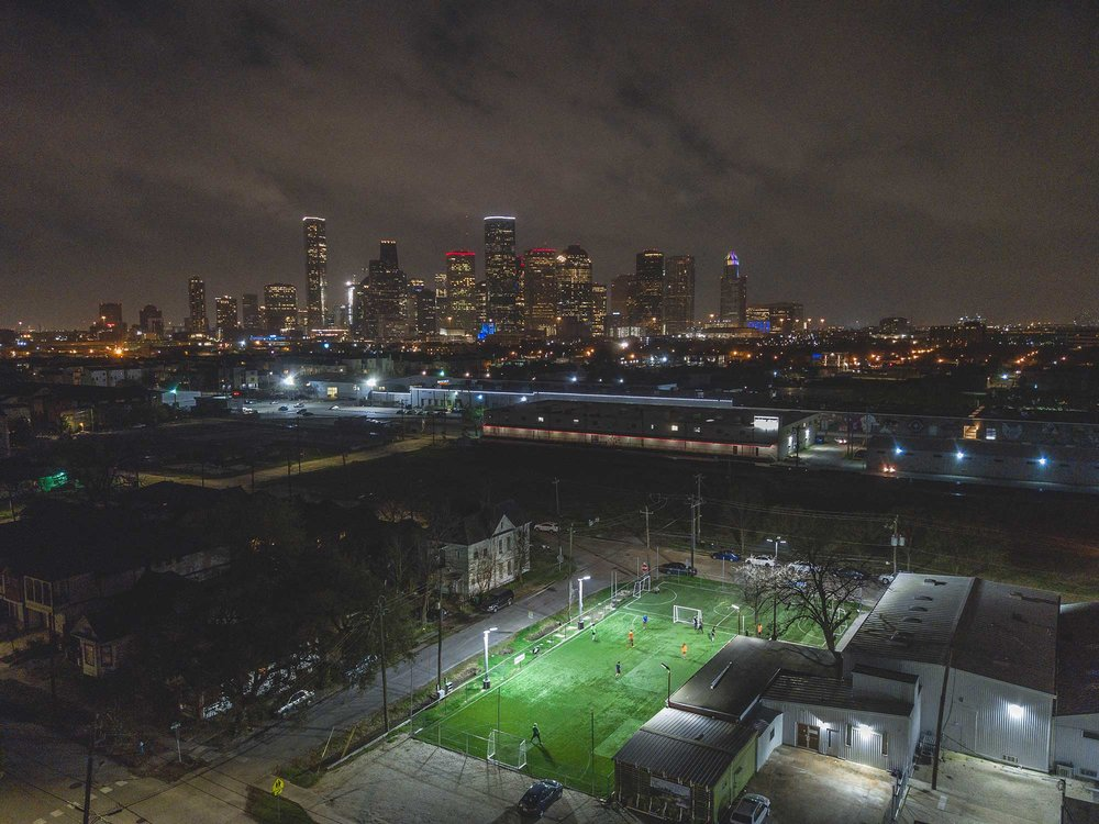 Urban Football Pitch
