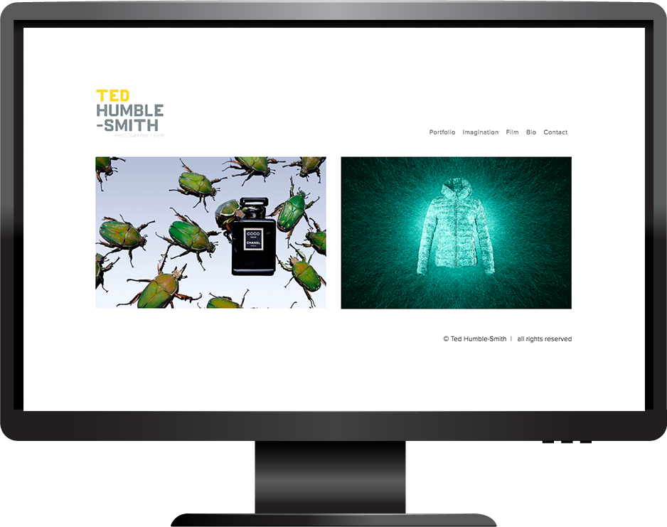 Ted Humble-Smith Squarespace photography portfolio