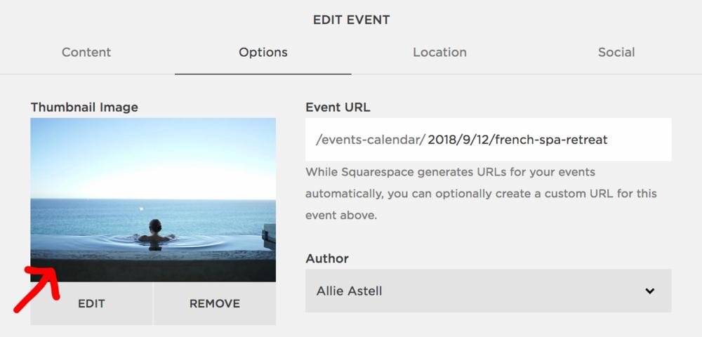 Event thumbnail filename Squarespace SEO