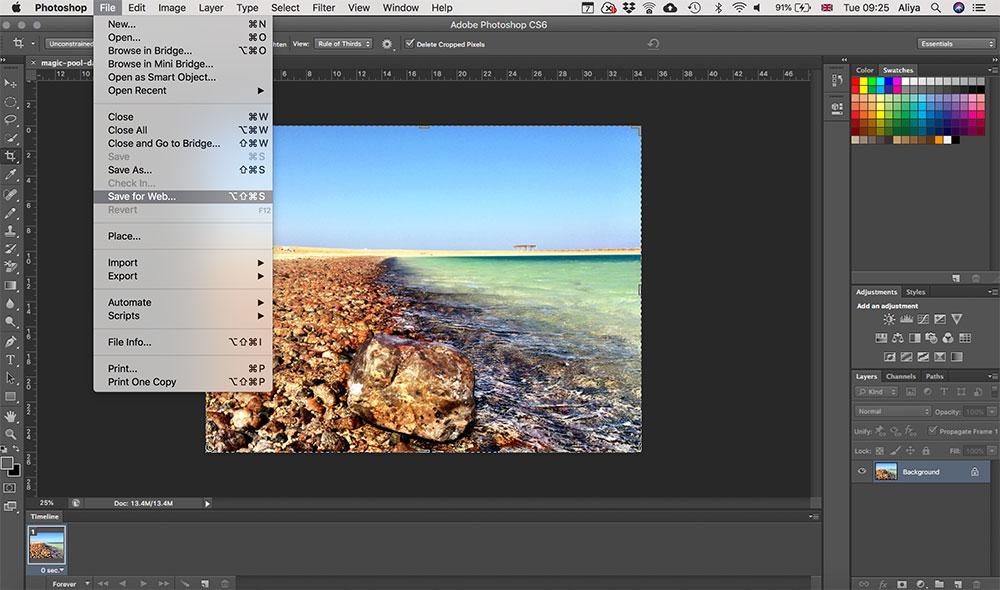 Squarespace SEO optimising images