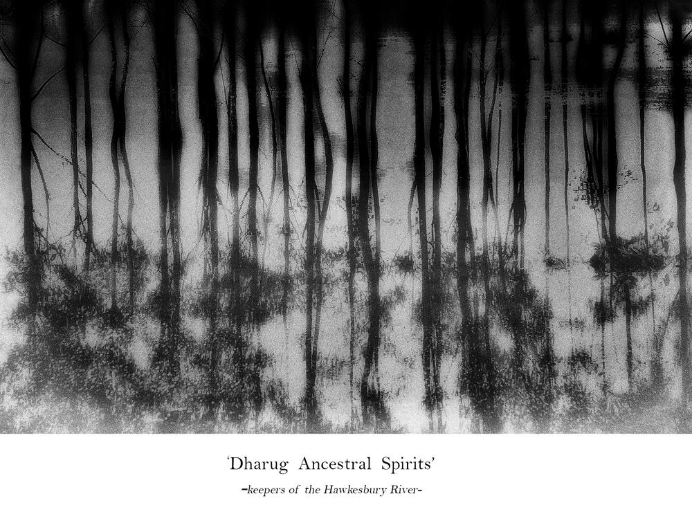 Dharug Ancestral Spirits by Diane McKenzie