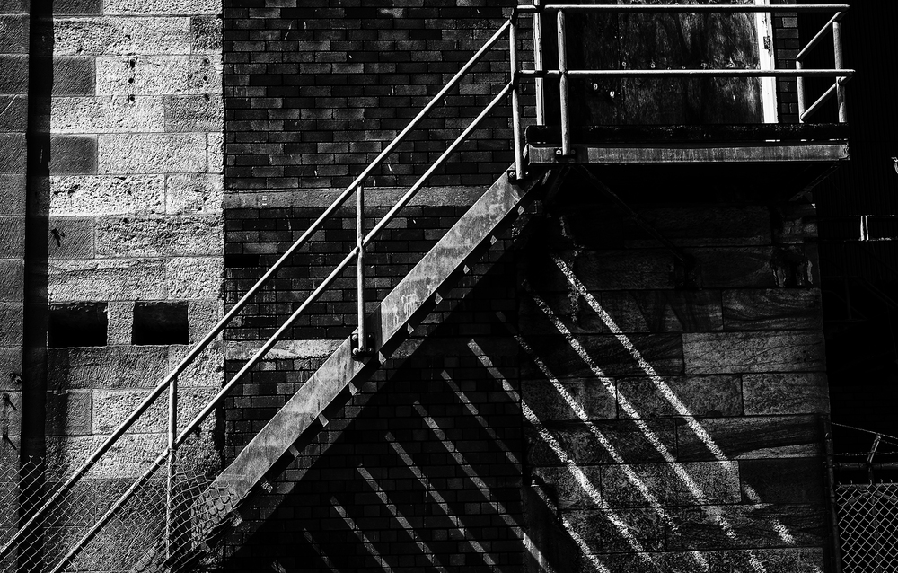 Fire Stair (c) Ron Bullions 2016