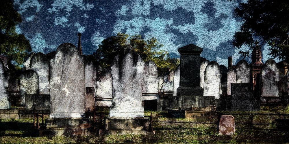 Headstones (c) Michael Smyth 2016