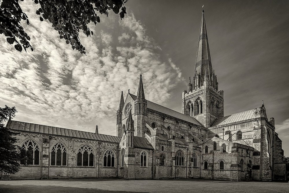 Chichester Cathedral (c) John Swainston 2017