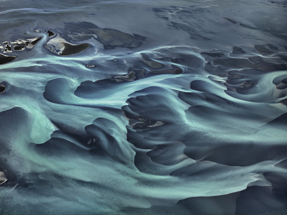 Olfusa River Iceland (c) Edward Burtynsky