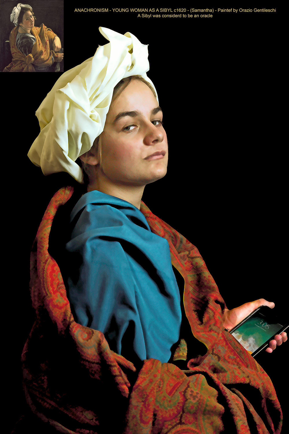 Young Woman as a Sibyl