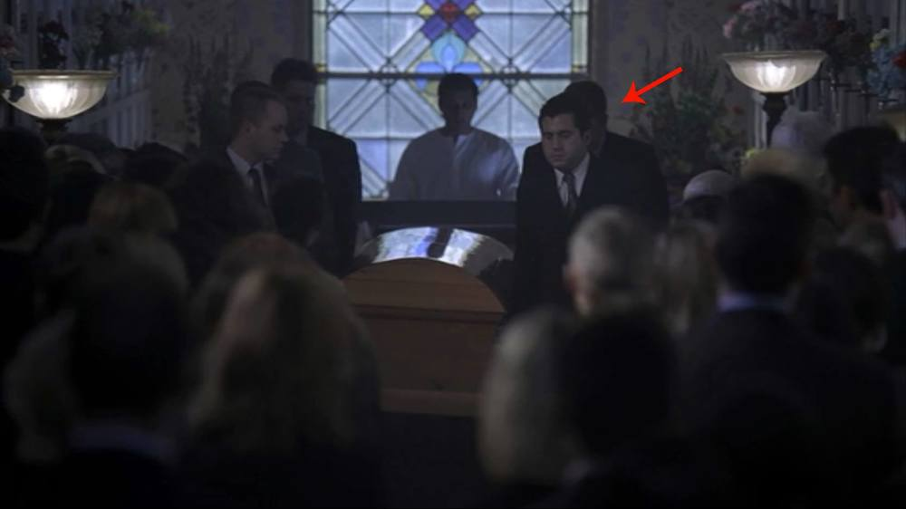 "Tommy Bechtold Seen here on House M. D. in the pivotal Role of ""Pallbearer""."