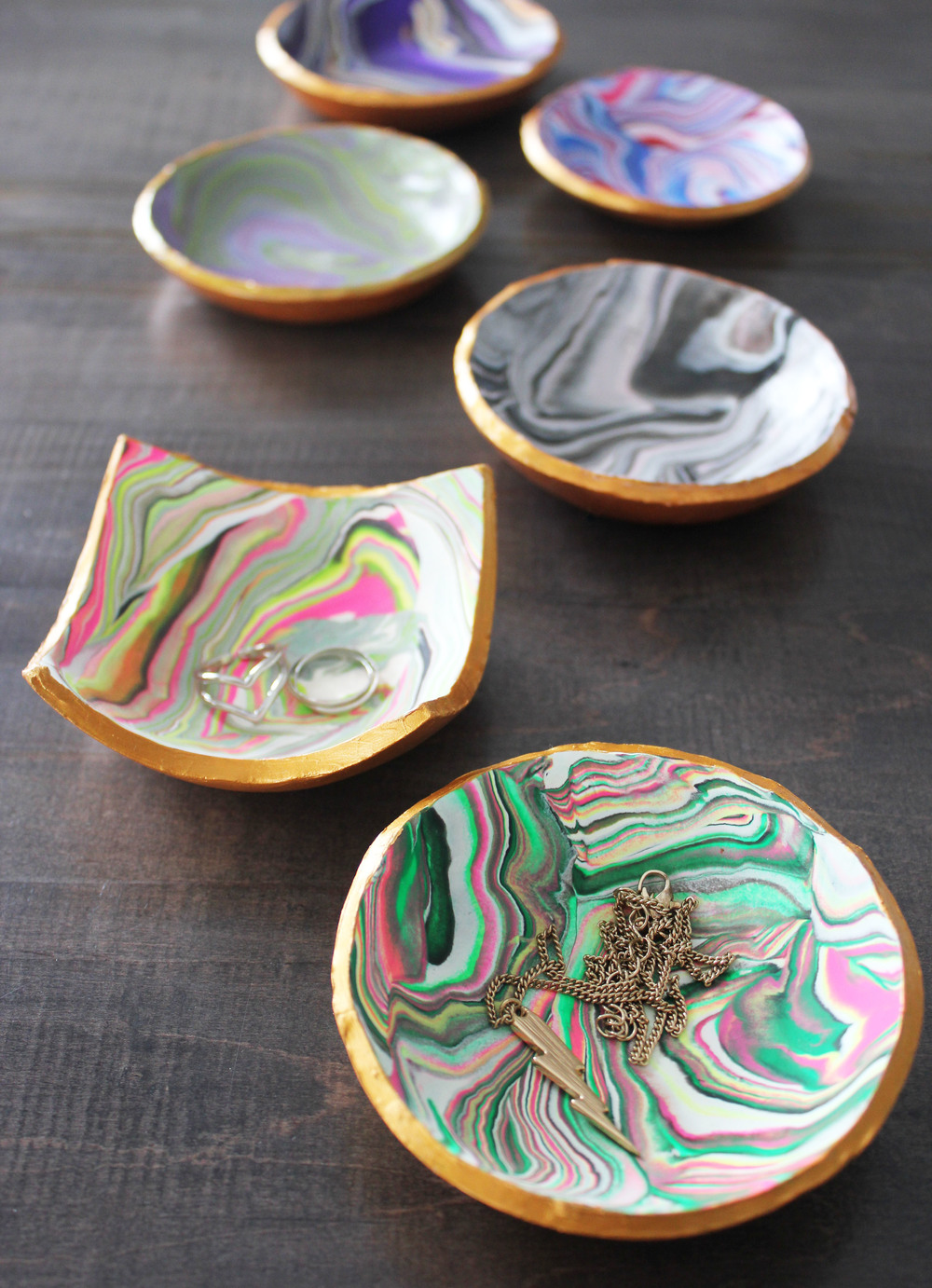 DIY Polymer Clay Jewellery Bowls — NV Craft Co.