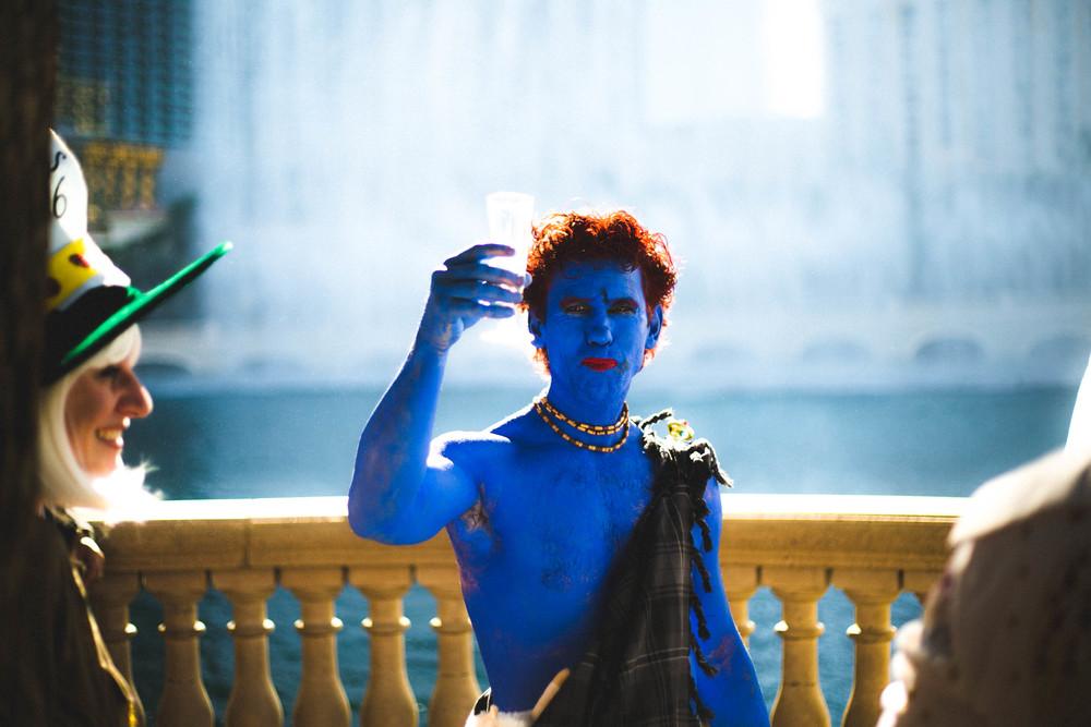 Blue Vegas