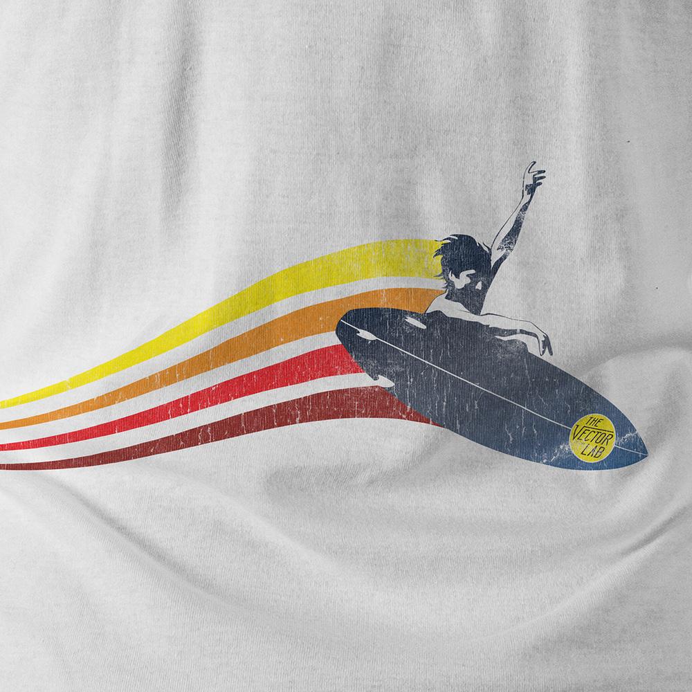 Thrift Shop T-Shirt Texture Template