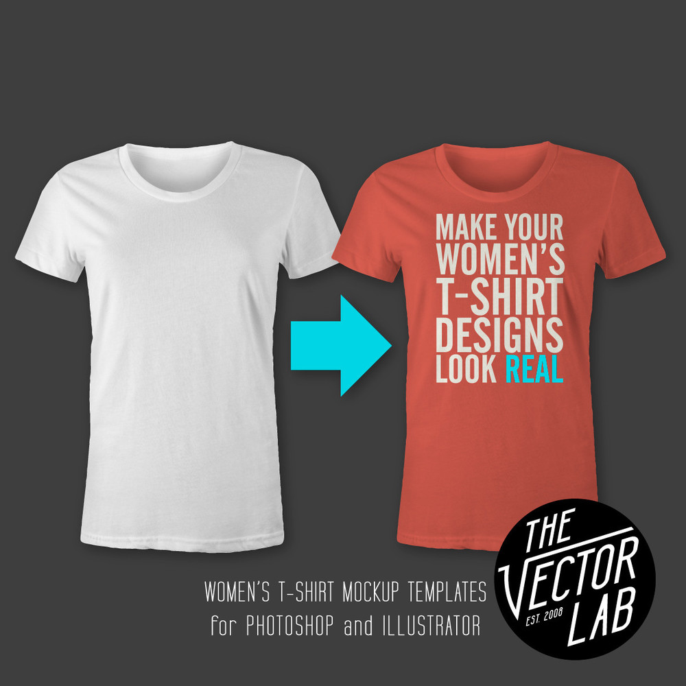 Women's T-Shirt & Apparel Templates