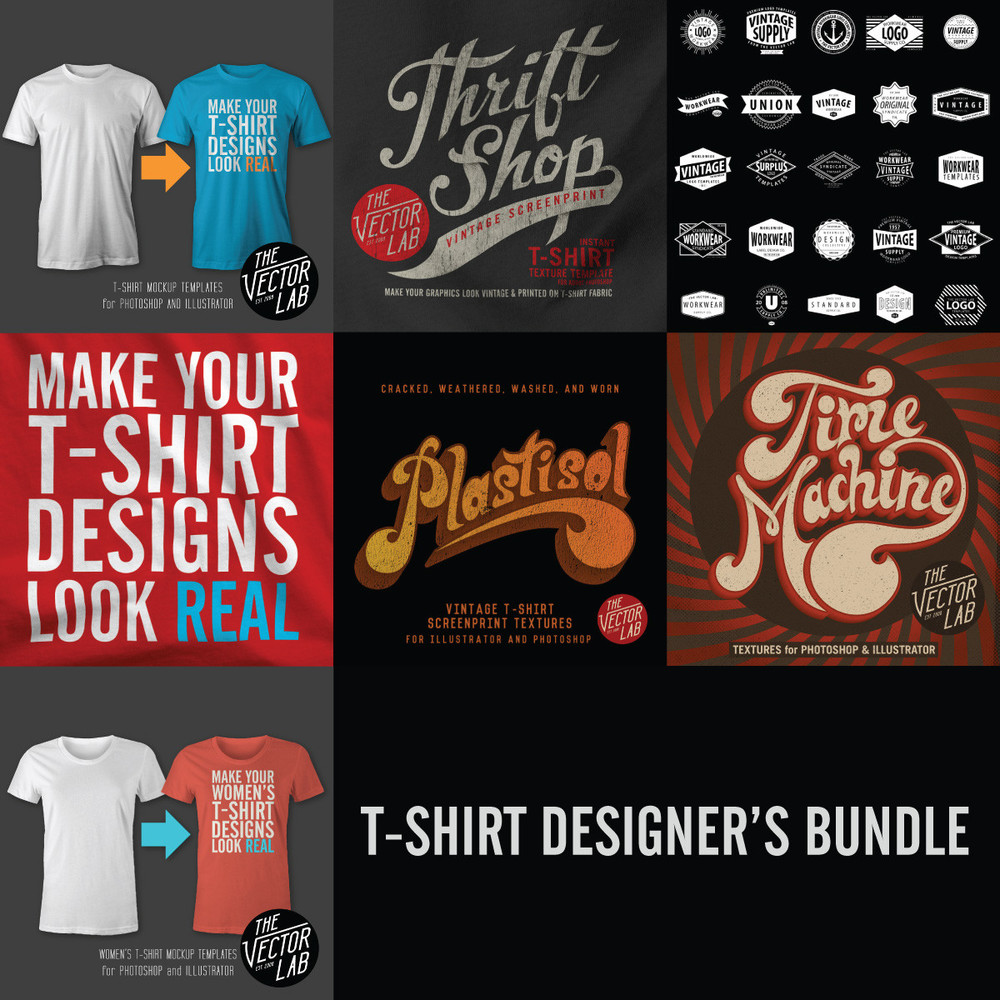 T-Shirt Design Bundles