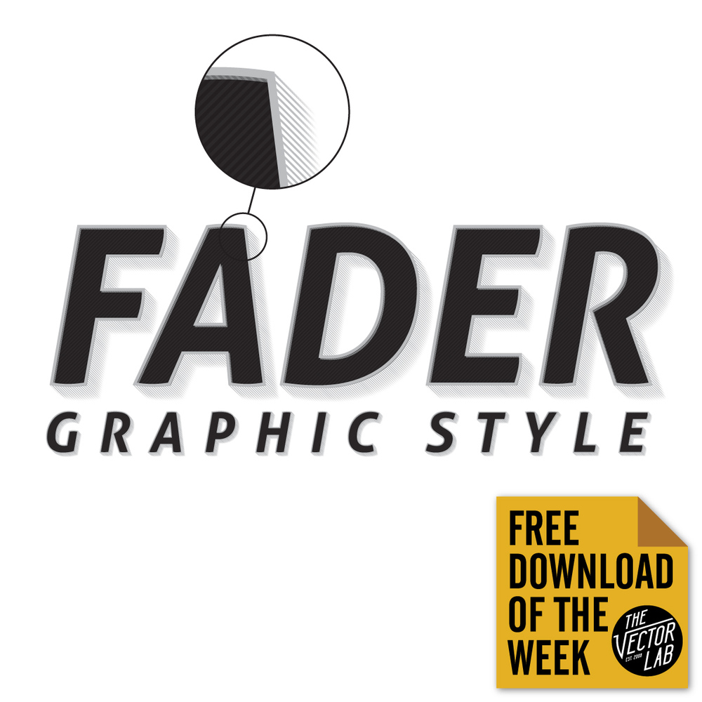 Fader Illustrator Graphic Style