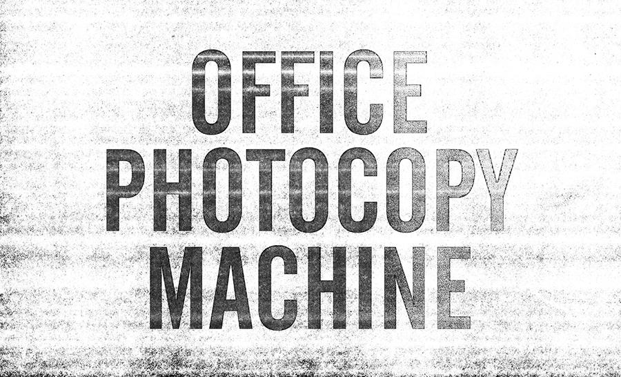 Photocopy Machine Texture