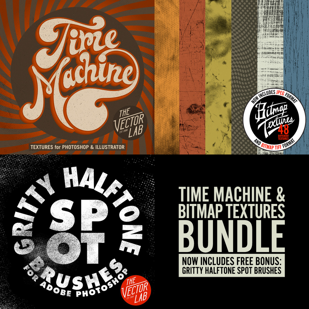 Time Machine & Bitmap Textures Bundle