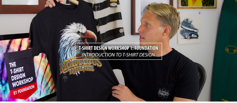 T-Shirt Design Workshop 1: Foundation