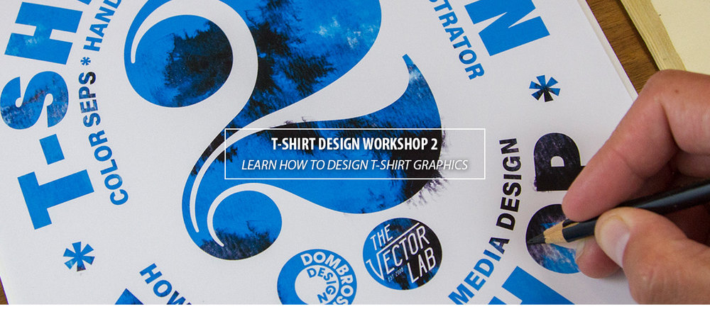 T-Shirt Design Workshop 2: Mixed Media Design