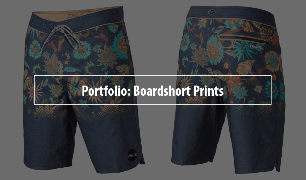 Surfing Boardshort Prints