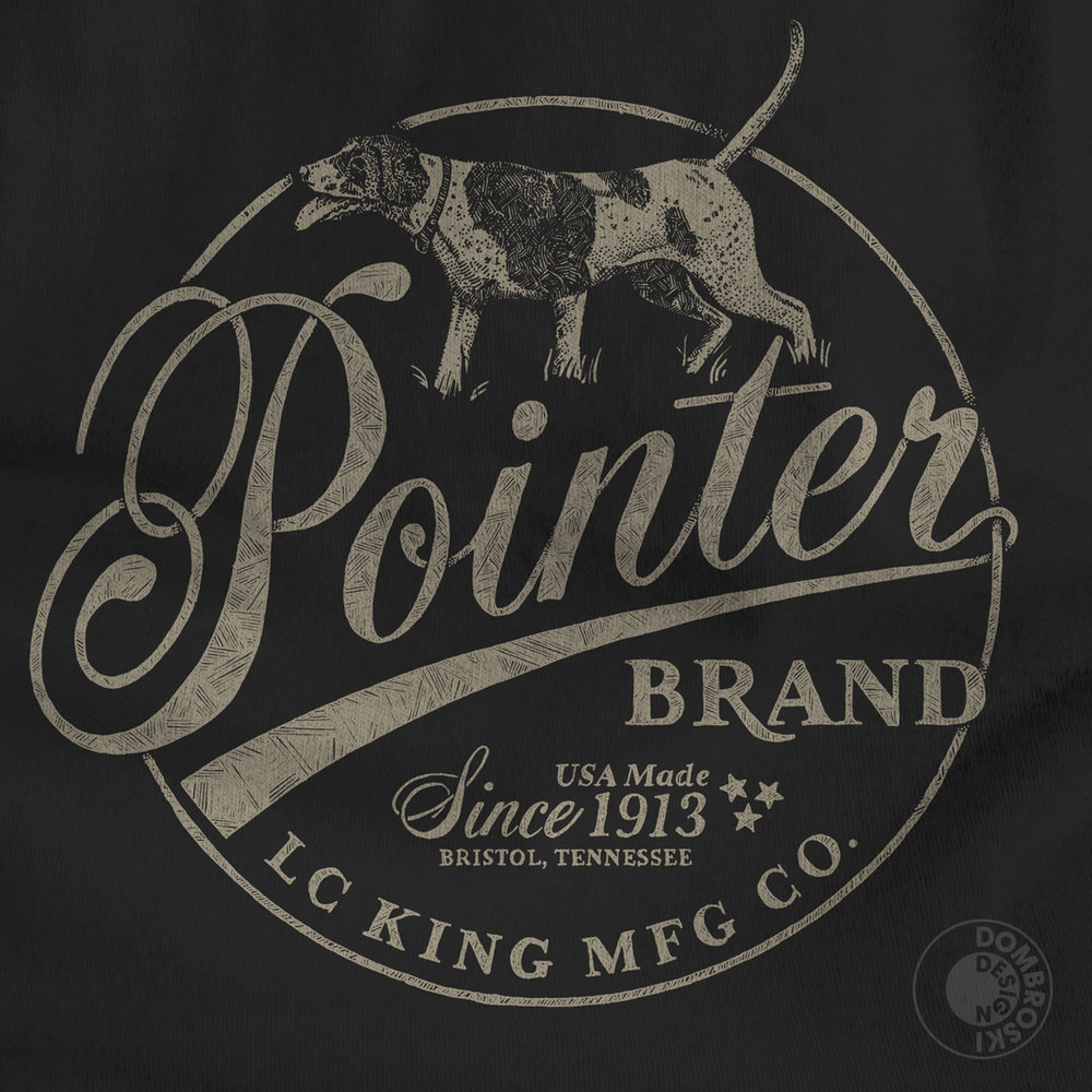 Pointer Brand T-Shirt Design