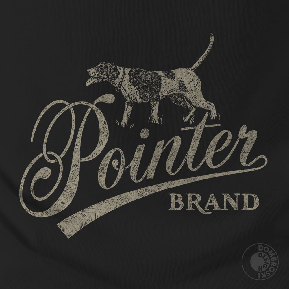 Pointer Brand Front Design