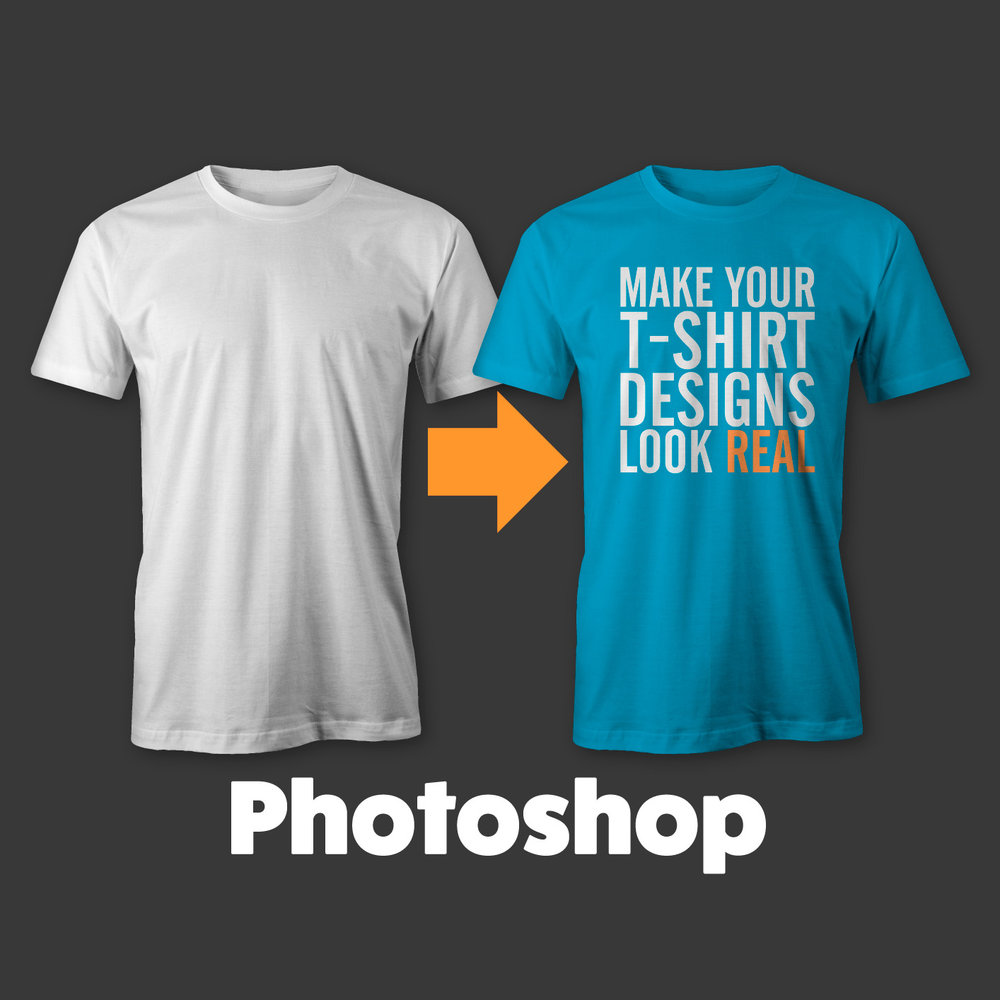 t shirt mockup templates in affinity coreldraw photoshop illustrator ray dombroski - Free T Shirt Mockup Template