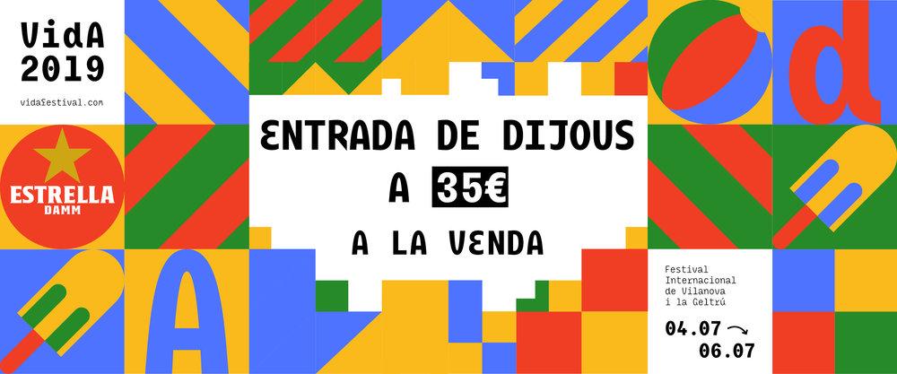 COMPRA AQUÍ LA TEVA ENTRADA DE DIJOUS!