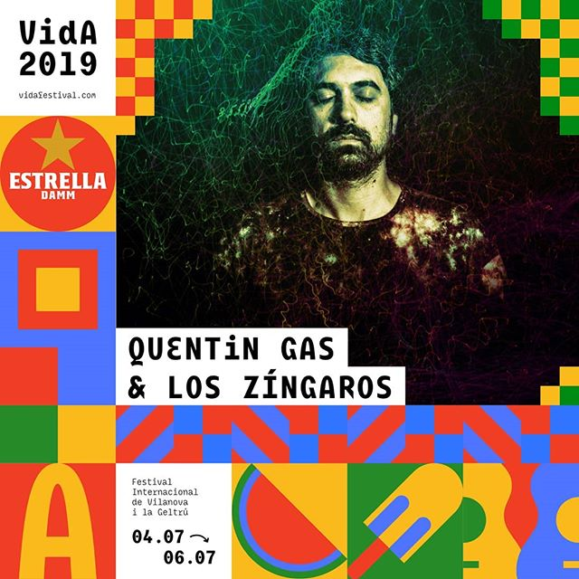 Quentin Gas & Los Zíngaros són VIDA! #VidaFestival2019  Tickets 🎟️ link bio