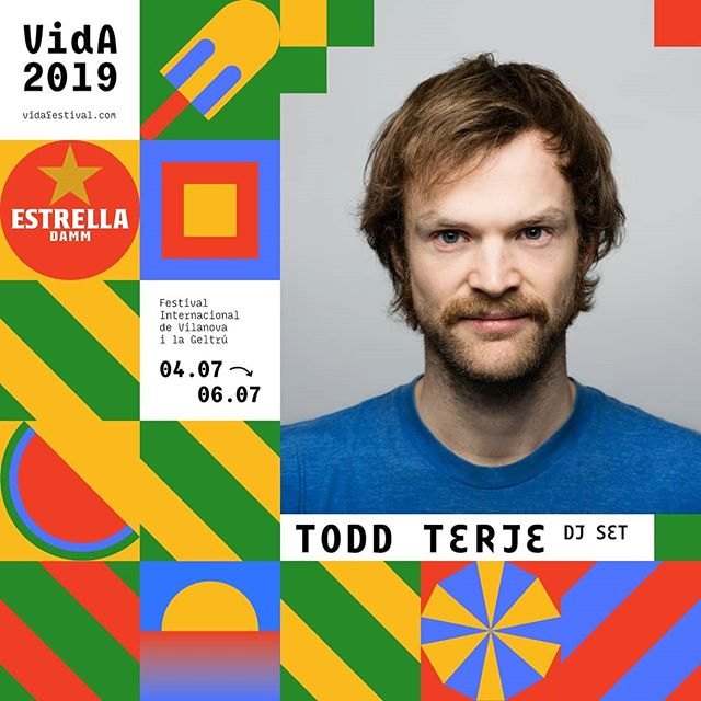 Todd Terje és VIDA! #VidaFestival2019  05.07.2019  Tickets 🎟️ link bio