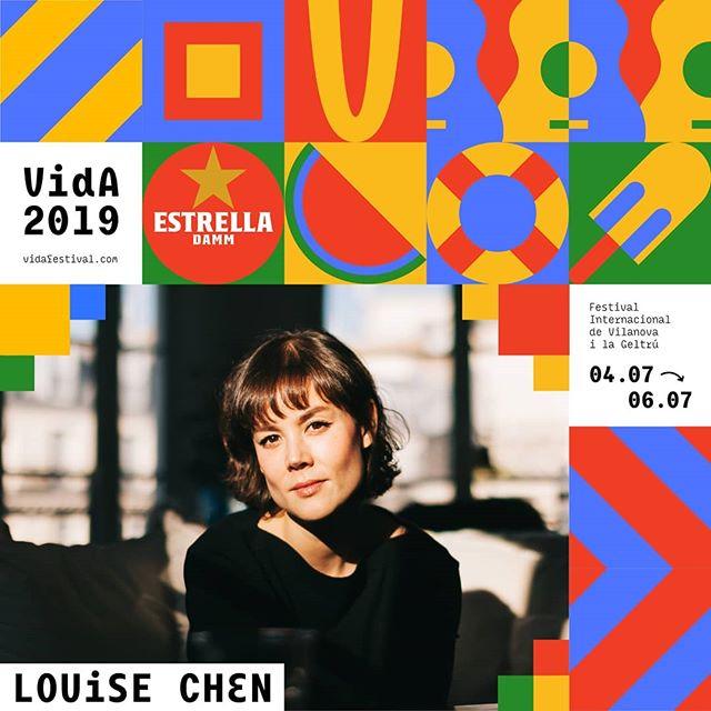 Louise Chen és VIDA! #VidaFestival2019  05.07.2019  Tickets 🎟️ link bio