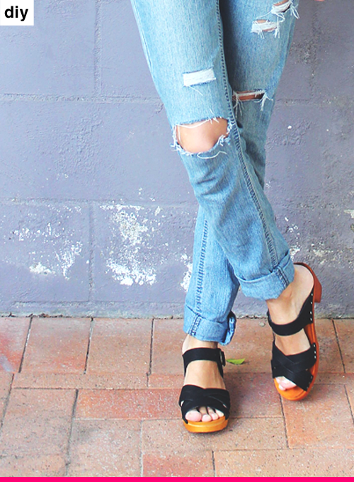 DIY: DISTRESSED DENIM