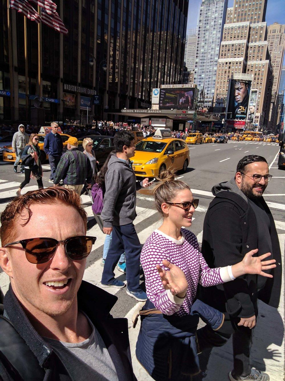 New York Pedestrians