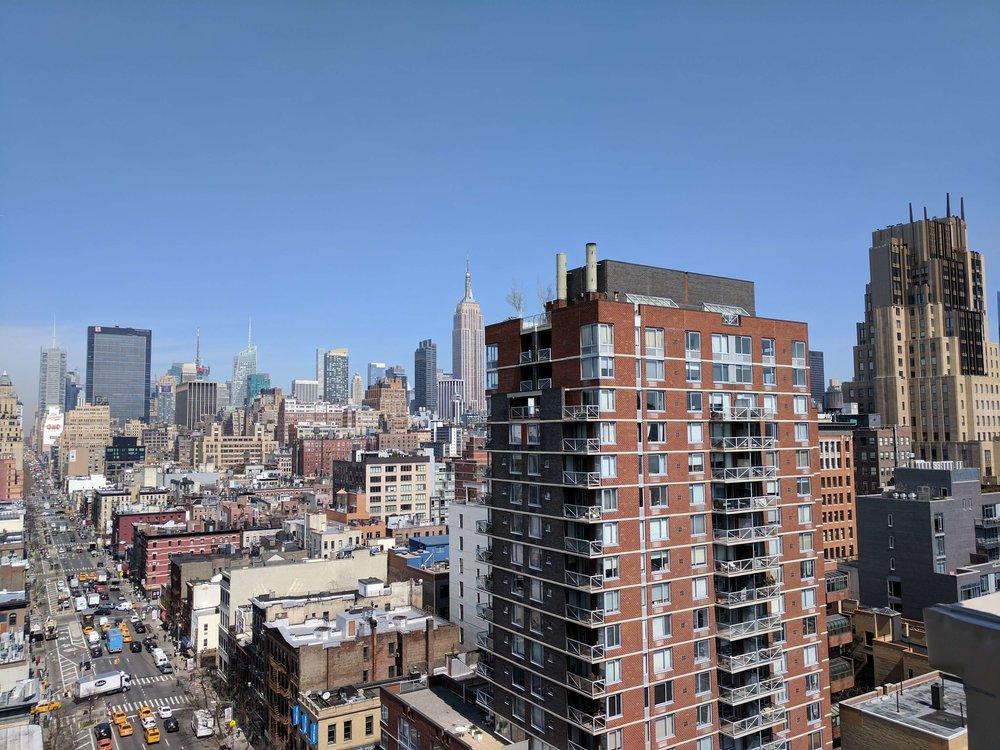 Google NY office View