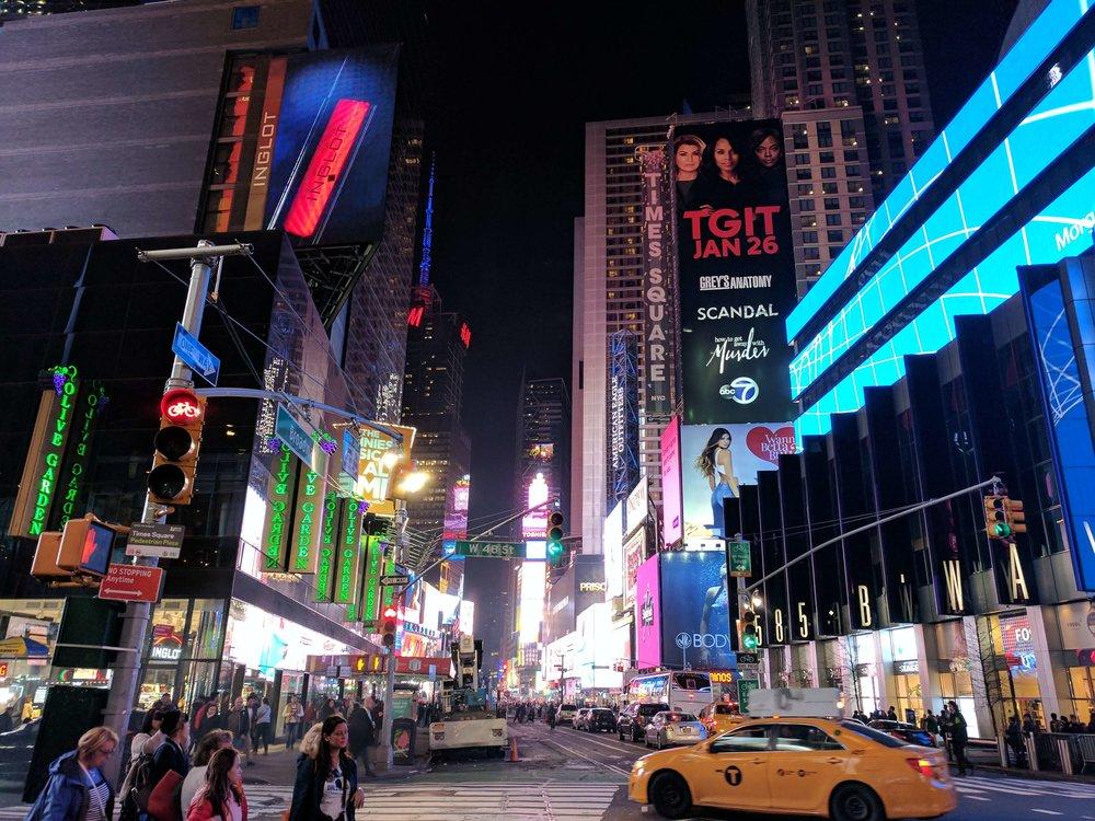 Times Square Manhatten