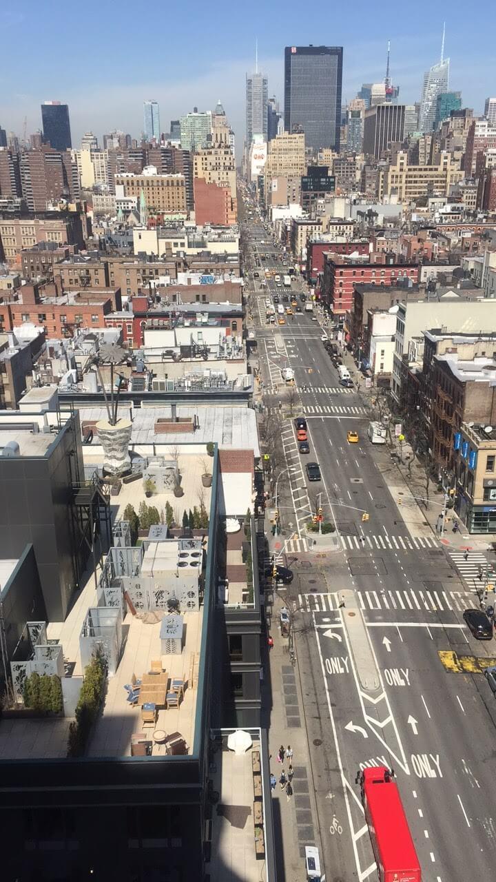 Google Office, NY views
