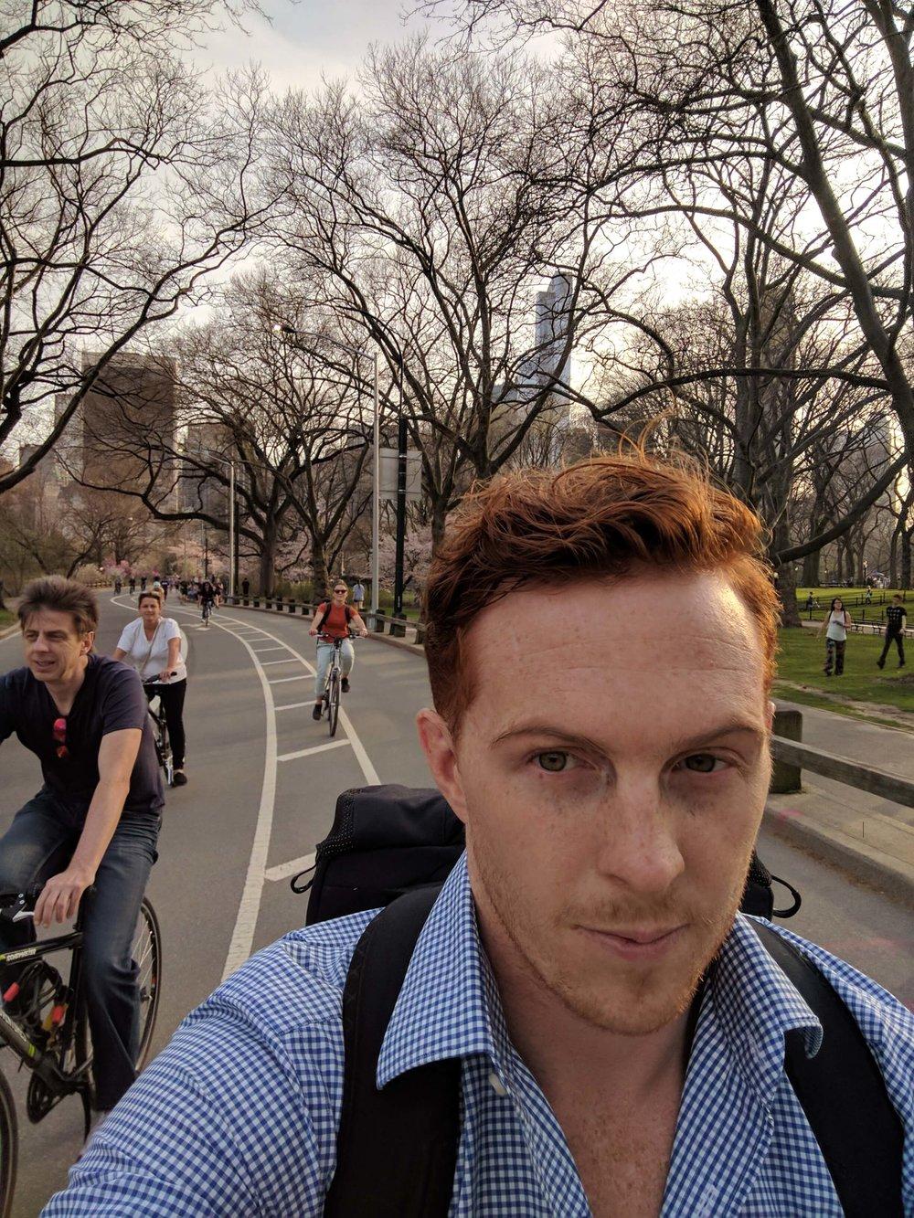 Bike Riding Central Park