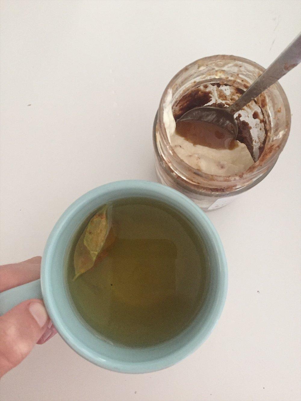 Mug Cake & Tea