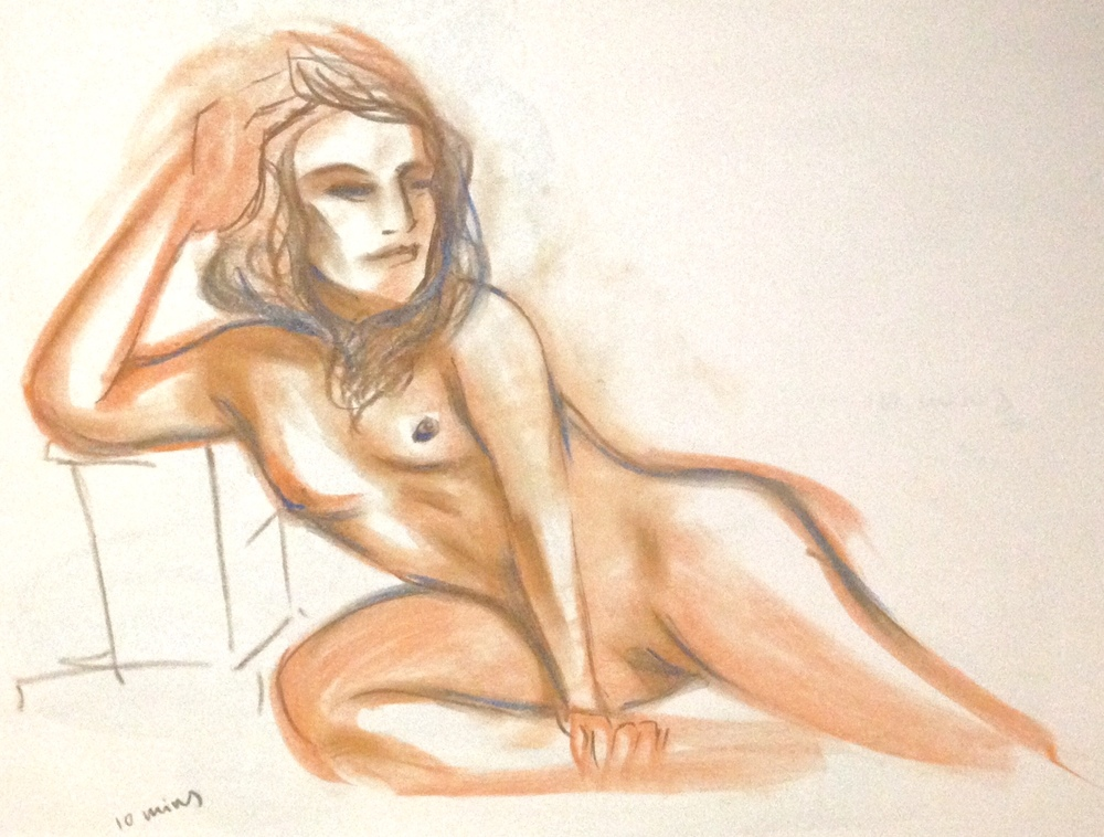 Life drawing:   10 Minute poses