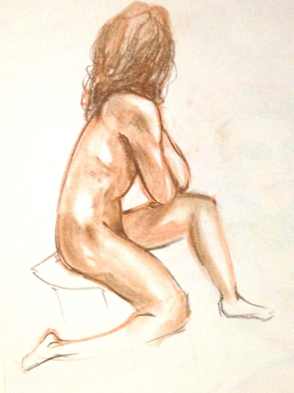Life drawing:   5 Minute poses