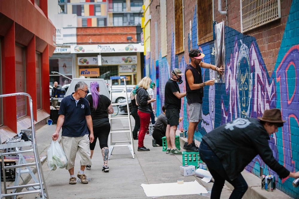 Creative Pathways in Footscray