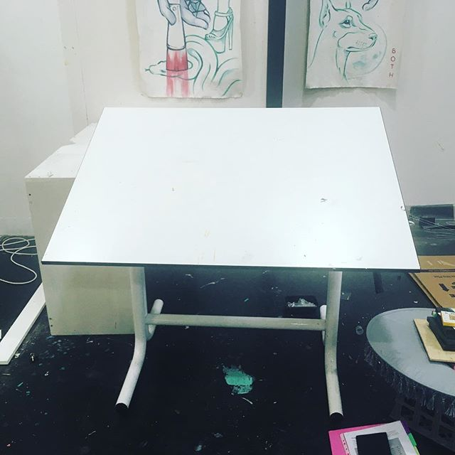 FREE DRAFTING DESK, pick up from Docklands. I won't be using this beauty for a while so I've decided to part with it, I'd like it to go to someone that'll make beautiful art on it. Height and angle adjustable. So if you want it, message me and it's yours.