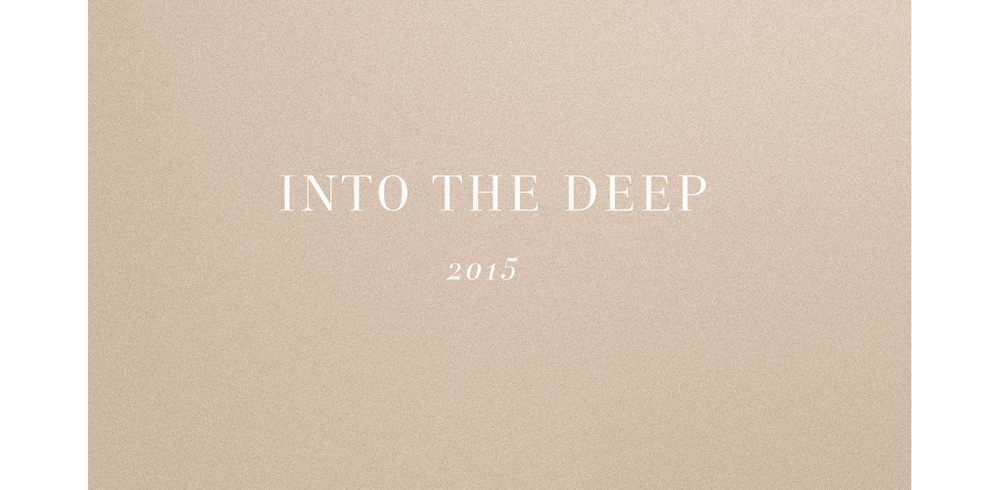 Into the Deep title page