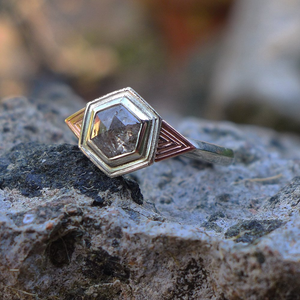hexagon-engagement-ring