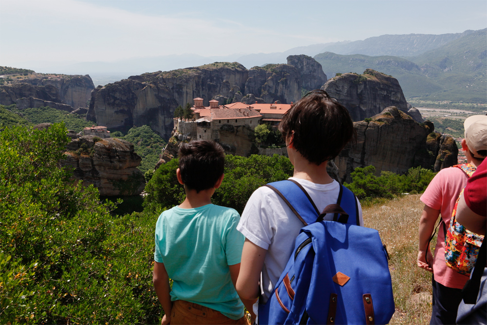The highest point of our route, 580m altitude, Meteora Greece, © alketa misja photography, 2015