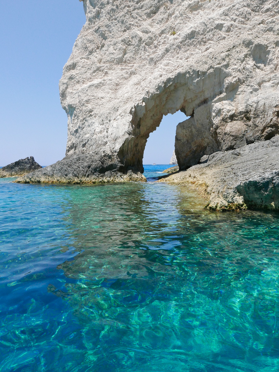 Cliffs and Stone Arches, Zakynthos 2015 ©alketamisja photography