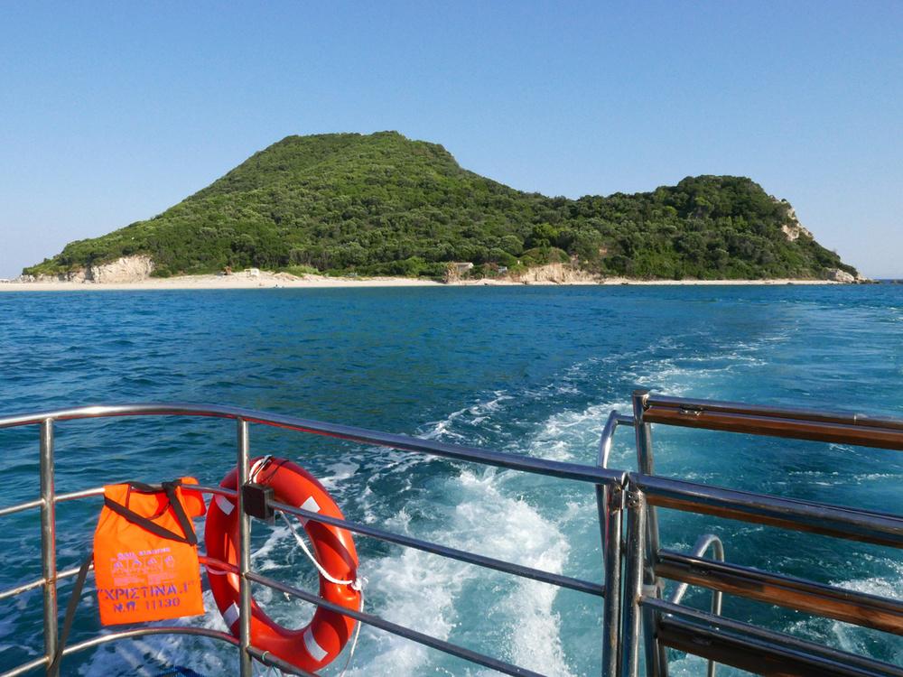 Marathonissi Island where the Sea Turtles make their nesting ©alketamisja photography 2015
