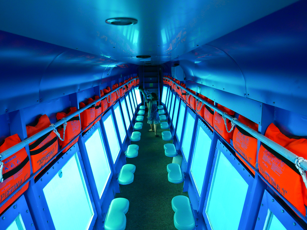 "Glass Bottom Boat ""Nemo"" © alketamisja photography"