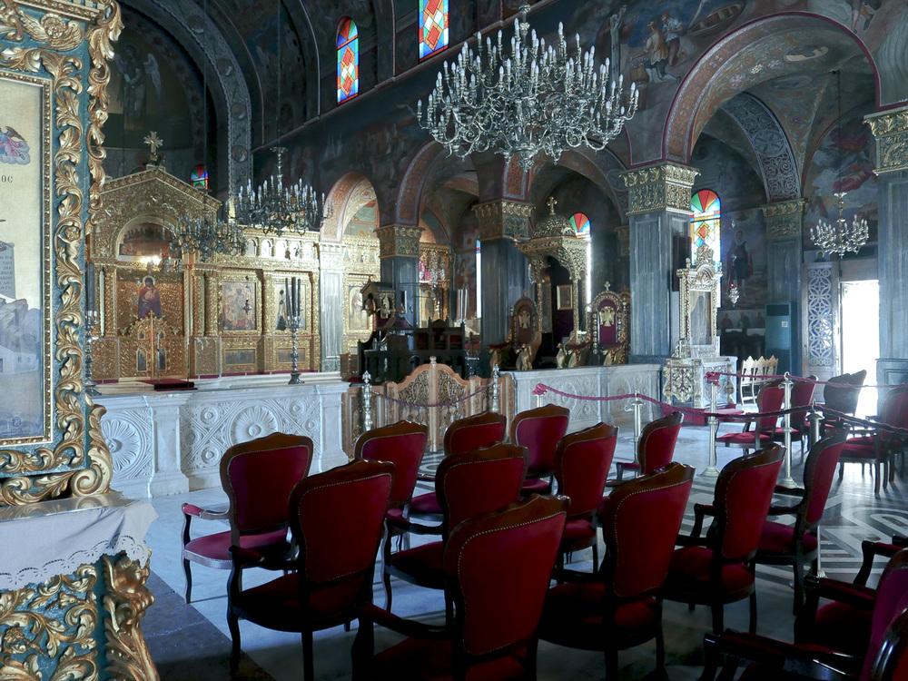 The Interior of Saint Dionysios Cathedral,Zakynthos Town, Greece 2015, © alketamisja photography