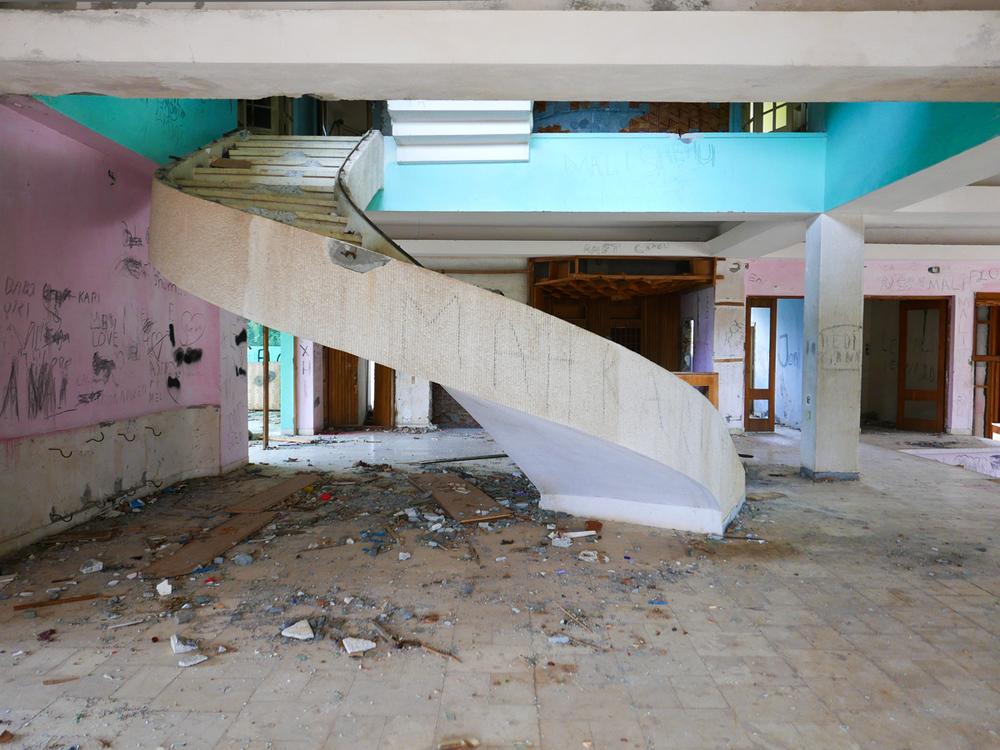 ©alketamisja photography, stairs Hotel Kukës Albania 2015
